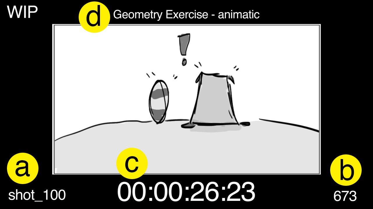 Animatic example