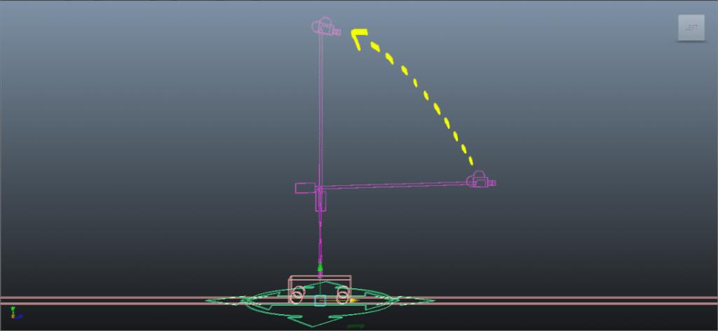 Camera animation - Crane
