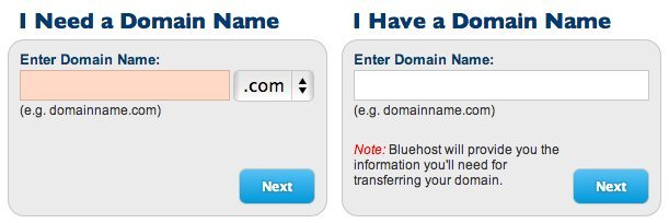 Getting a domain