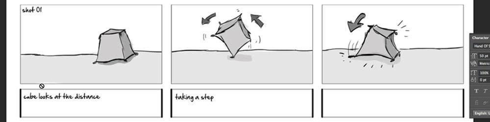 How to storyboard making an animated movie for Interactive storyboard template