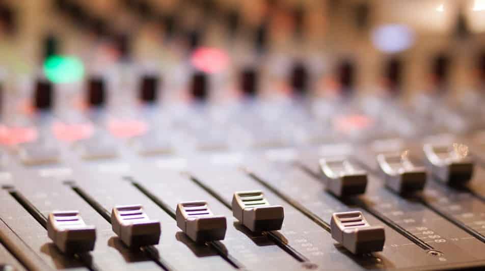 music console