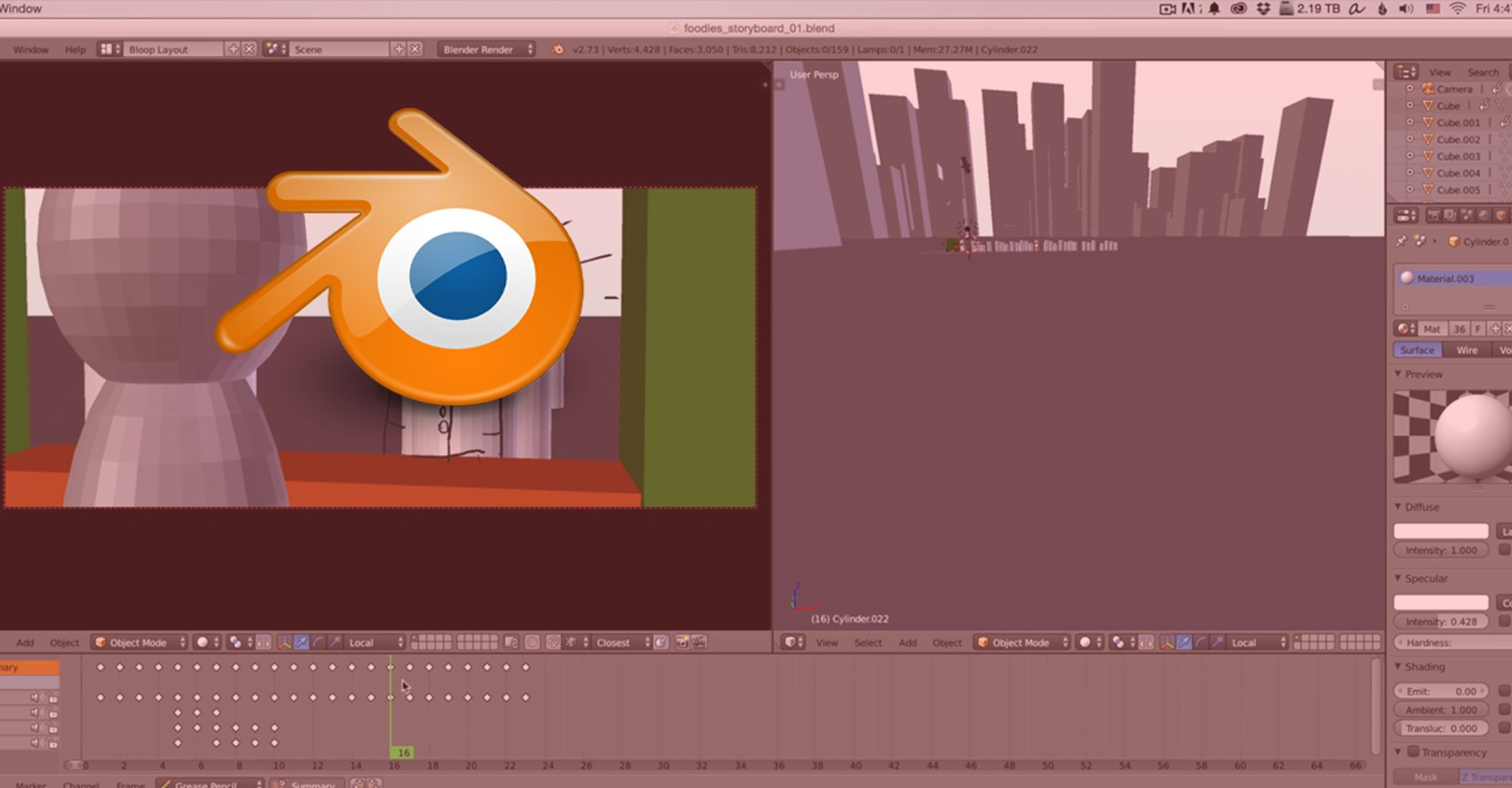 Storyboarding with Blender | Bloop Animation