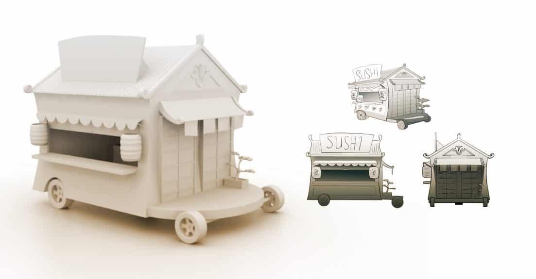 modeling-the-trucks