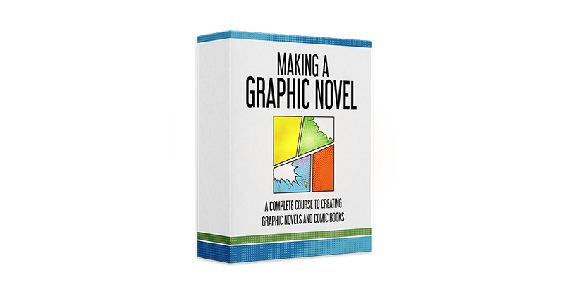Making a Graphic Novel Course   58 HD Video Lessons