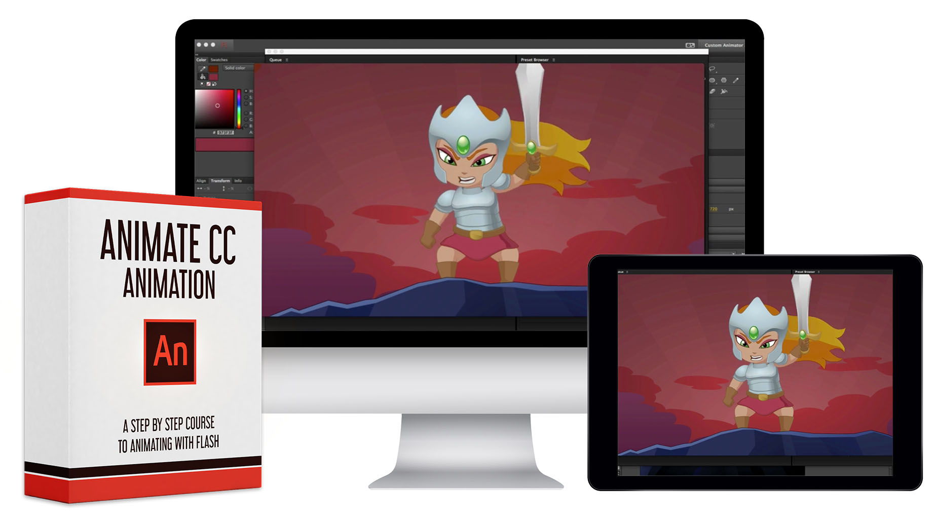 Animate CC Animation Course - 36 HD Video Lessons   Bloop