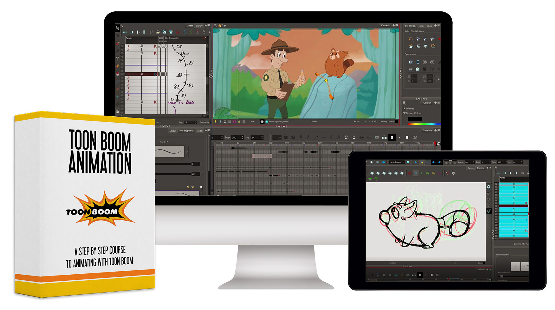 Toon Boom Animation course - 39 HD Video Lessons