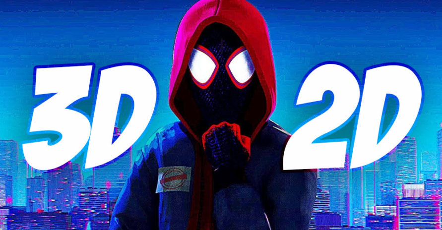 Spiderman into the Spider-Verse: 2D or 3D? | Bloop Animation