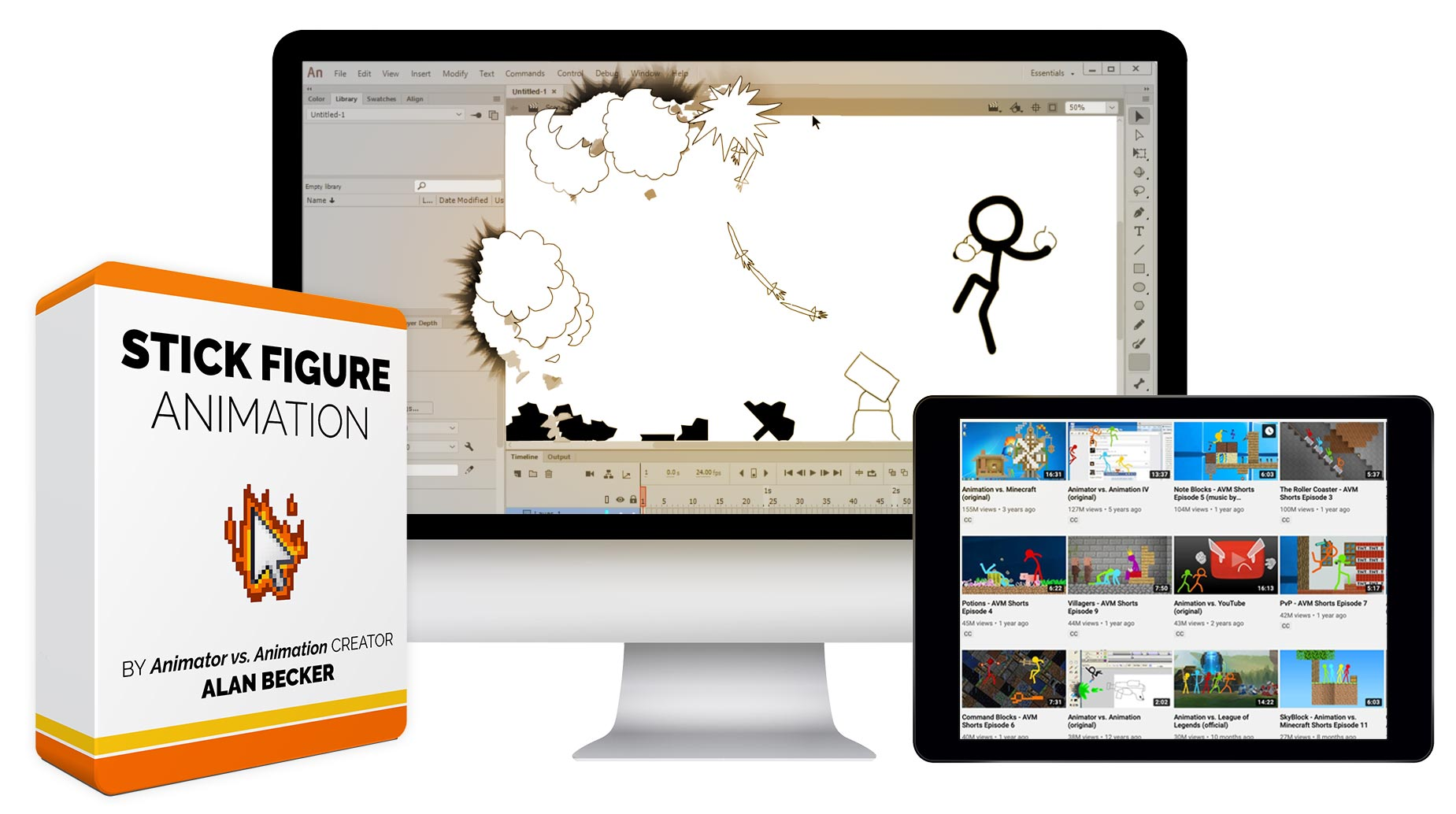 [VIP] Bloop Animation - Stick Figure Animation